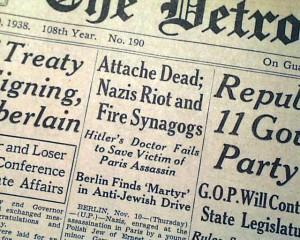 Detroit News article on Kristalnacht and Polish Jew