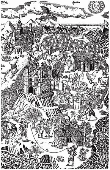 New Atlantis illustration by Lowell Hess
